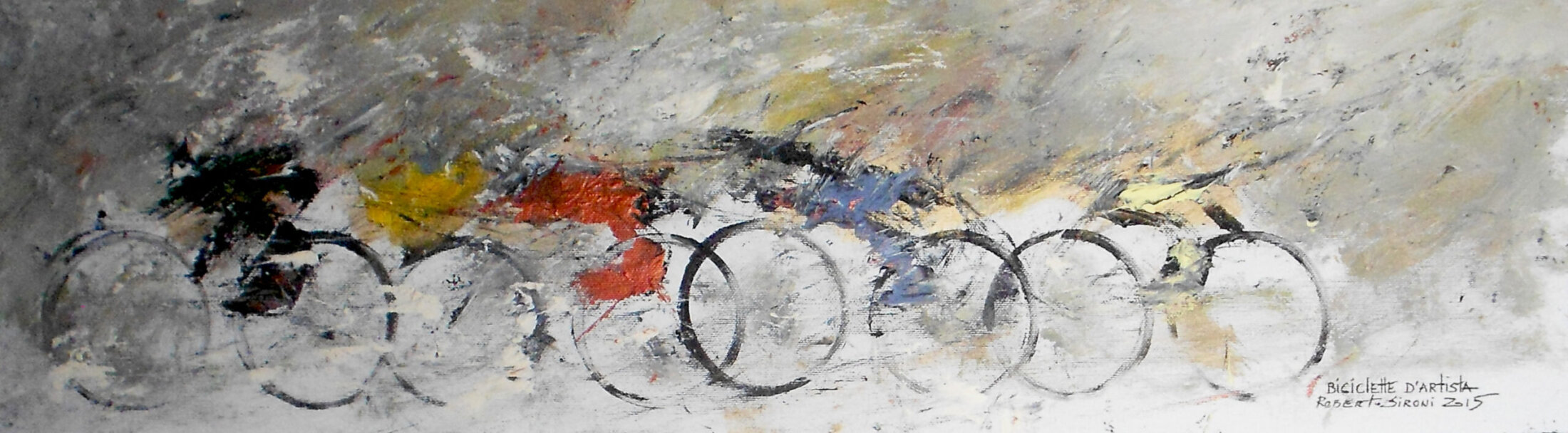 BiciclettaDArtista-R.Sironi-OlioSuTela-20x70