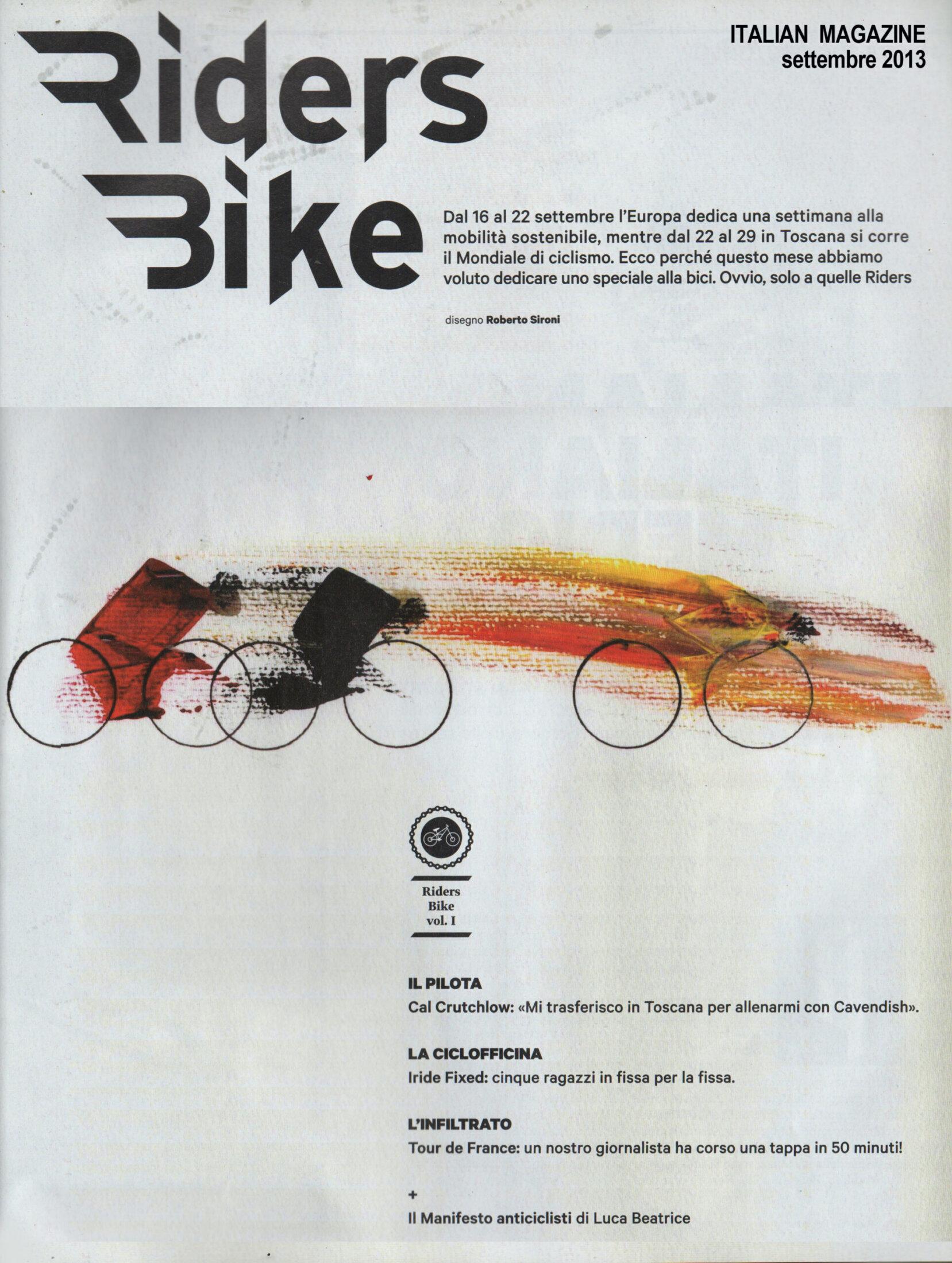 RIDERS BIKE - 2013